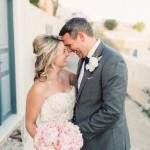 Katie and Brian's Stunning Santorini Elopement
