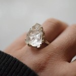 10 Stunning Raw Engagement Rings