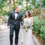Morgan and Dereck's Intimate Wedding at Sunken Gardens