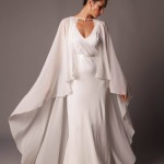 Hot Wedding Trend: Long Bridal Capes