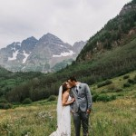 Heather and Darren's Colorado Wilderness Wedding