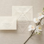 Trending: Clear Acrylic Wedding Details