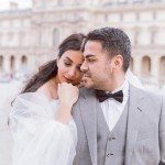 Ali and Sevgil's Romantic Paris Elopement