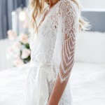 Ooh La La! These Elegant Lace Bridal Robes Will Take Your Breath Away