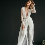 You'll Love These Sophisticated Bridal Jumpsuits