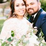 Melba and Josh's Intimate & Elegant Houston Wedding