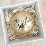 8 Holiday Ornaments for Newlyweds from Etsy