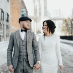 Farrah and Conor's St. Patty's Day in NYC Elopement