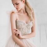 Pretty in Pink Wedding Dress Inspiration