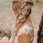 Dreamy Bridal Hair Vines + Beautiful Bridal Hairstyle Inspiration