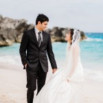 Ayumi and Vijay's Intimate Bermuda Wedding