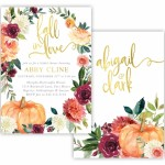 10 Must-Haves For Your Fall Bridal Shower
