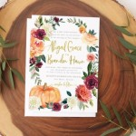 You'll Fall in Love With These 10 Autumn Wedding Details