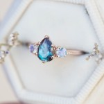 8 Gorgeous and Unique Colorful Gemstone Engagement Rings