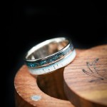 8 Unique Wedding Bands for Him From Etsy