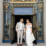 Haleh and Mitchell's Simple and Sweet San Francisco City Hall Wedding