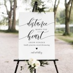 8 Must-Have COVID-19 Wedding Signs