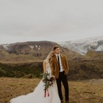 Wild & Ethereal Iceland Elopement Styled Shoot