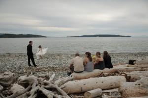 Beach Wedding. Photo by Erin Wallis.
