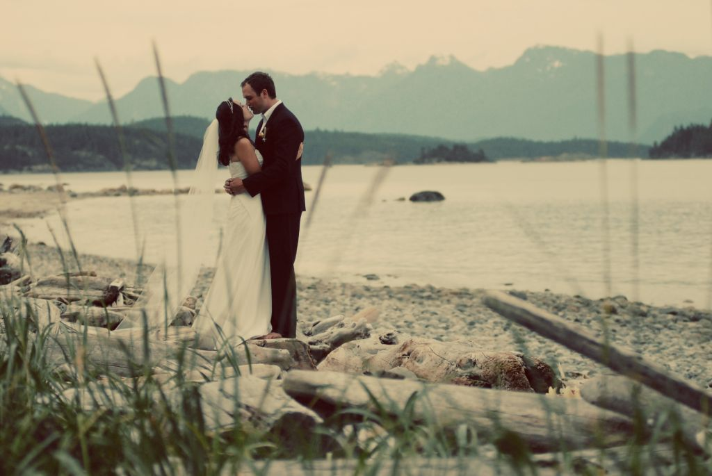 Real Weddings In BC: Amanda And Casey's B.C. Wilderness
