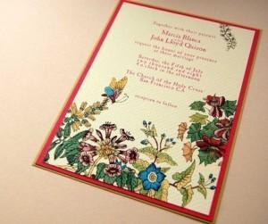 Garden Wedding Invitations by Inkylivie