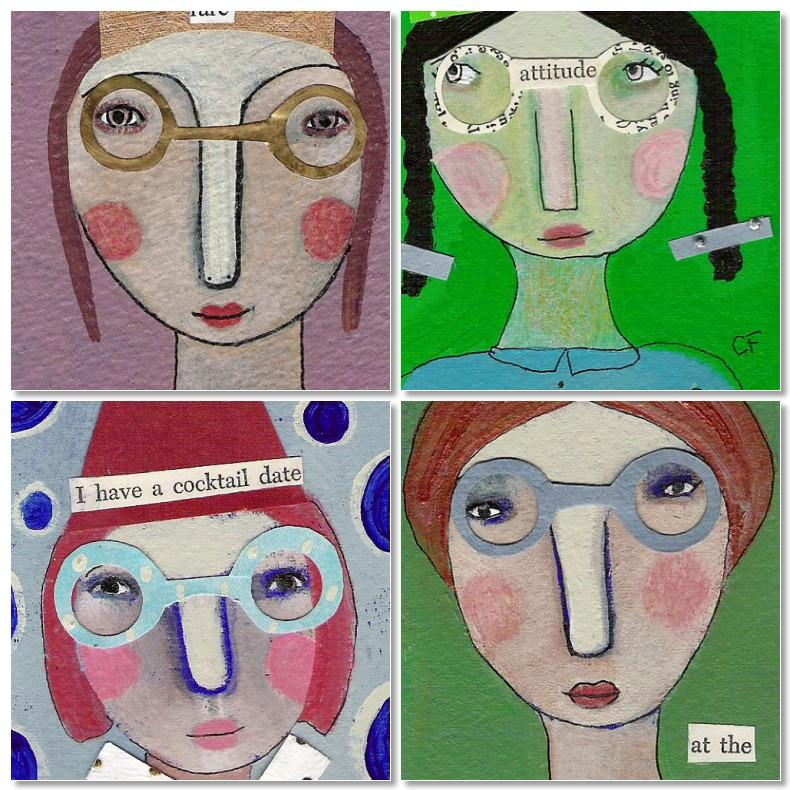 mosaic ladies