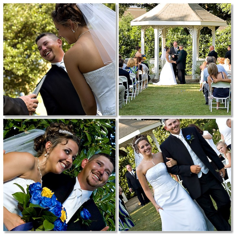 Real Weddings: Randi and Jon's Intimate Outdoor Wedding | Intimate ...