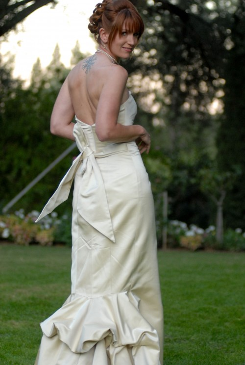 Real Weddings: An intimate garden wedding in Napa California - Photo Courtesy of Susan Adler
