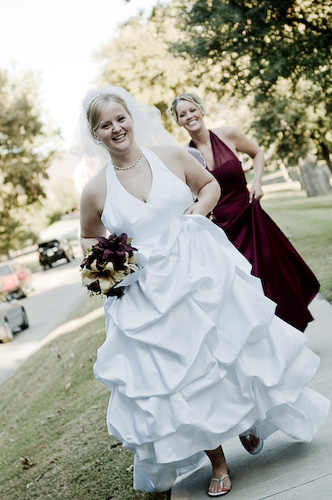 outdoor bride photo by treva tribit