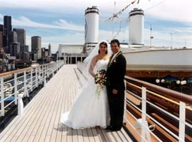 Romantic Wedding On A Boat Have A Wedding On A Cruise Ship