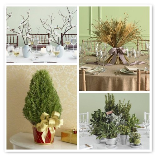 Inexpensive centerpiece ideas