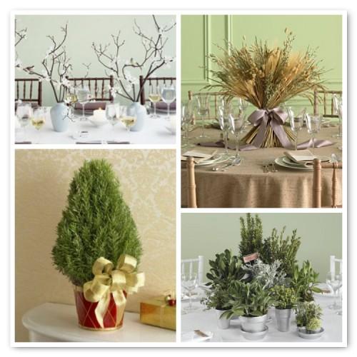 non-floral centerpieces
