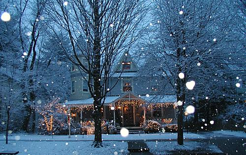 haddonfield winter wonderland wedding