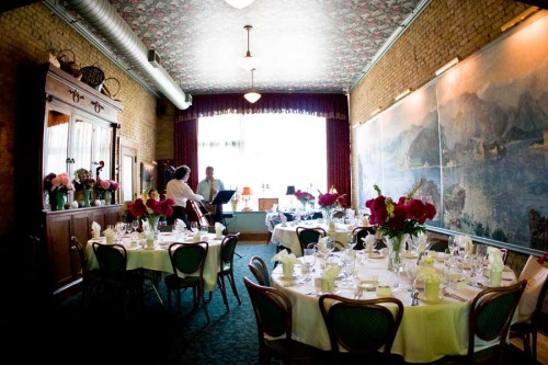 restaurant wedding reception at WA Frost, St. Paul Minnesota