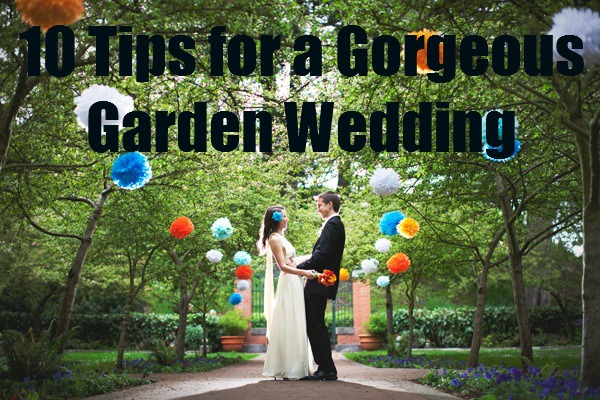 Simple Outdoor Ceremony Decorations: Tips For A Garden Wedding Ceremony