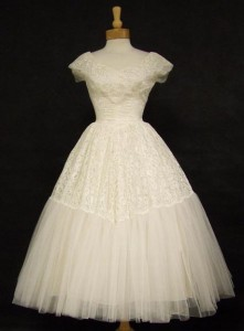 Vintage Wedding Dress from Vintageous.com