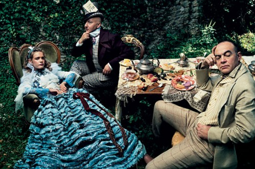 alice in wonderland annie leibovitz