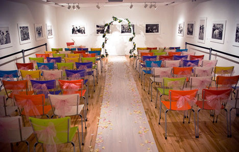 art gallery wedding in Calgary