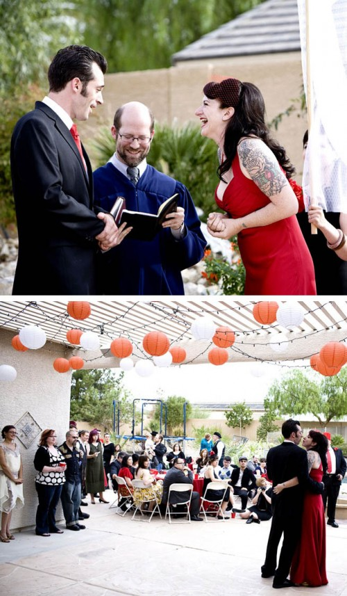 ceremony las vegas wedding outdoor