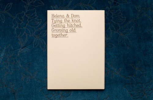 Unique Wording For Wedding Invitations: Let's Grow Old Together, Baby: You've Got To See This