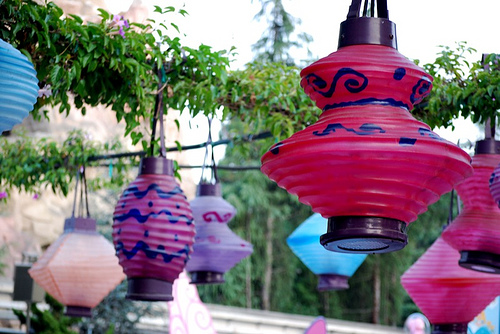 tea party lanterns