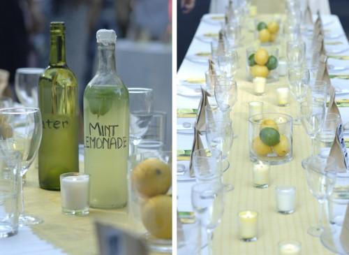 fruit centerpieces wedding