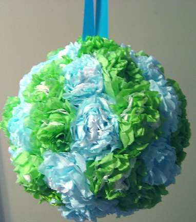 Inexpensive Wedding Décor Ideas: DIY Wedding Pomanders