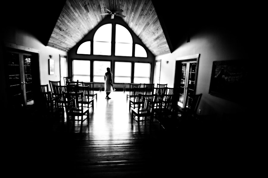 bride in elk view lodge