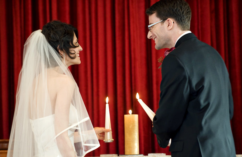 unity candle lighting church wedding ceremony