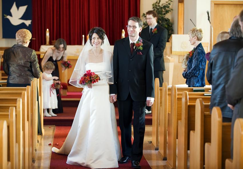 lutheran church wedding ceremony in alberta
