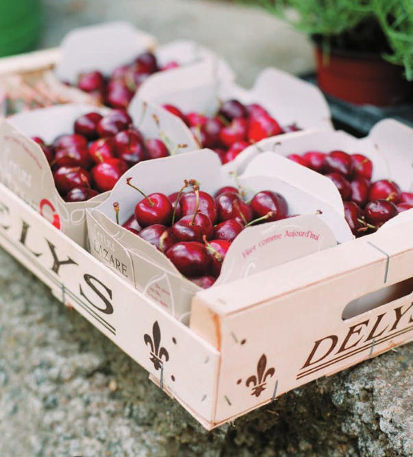 cherry wedding favors