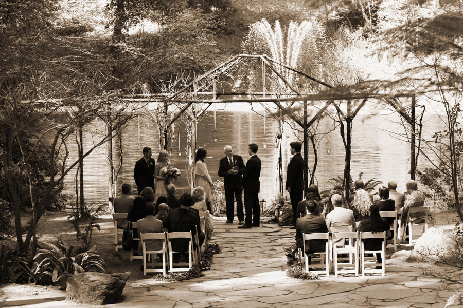 Real Weddings Jenny And Matthews Intimate Forest Wedding