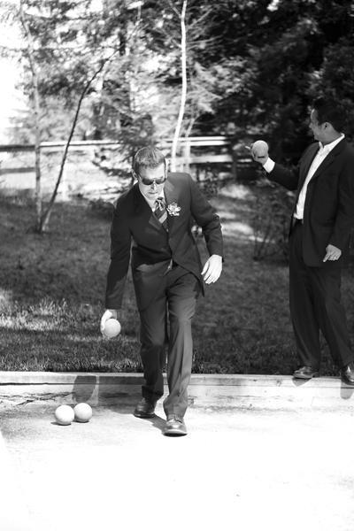 lawn bowling wedding