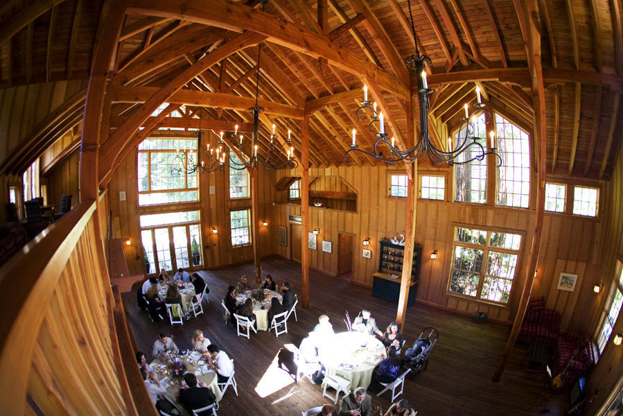 wedding reception nestldown california